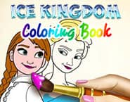Ice Kingdom Coloring Book
