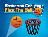 Basketball Challenge Flick the Ball