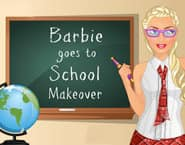 Barbie Goes To School Makeover